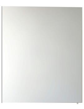 Vitra S50 Classic 600 X 700mm Single Door Mirror Cabinet