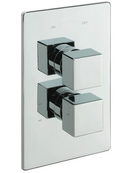Tre Mercati Square Concealed Thermostatic Shower Valve