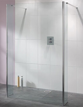 Lakes Coastline Riviera Walk-In Shower Panel Only - W 950 x H 2000mm