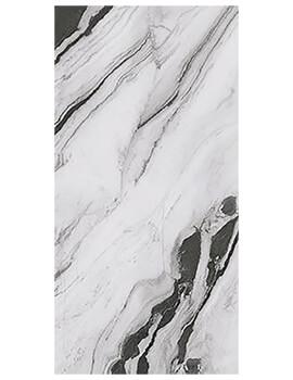RAK Panda Marble Full Lappato 120 x 260cm White Porcelain Tile