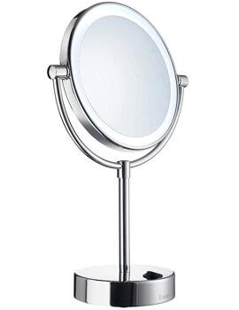 Smedbo Outline LED Shaving And Make-Up Round Mirror