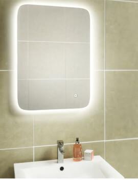 HIB Ambience 50 Steam Free LED Illuminated Mirror