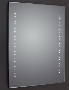 Frontline Ballina Bevel Edged LED Mirror With Sensor And Shaving Socket