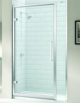 Merlyn 8 Series Hinge Door 750mm And Inline Panel 150mm - M81201PH