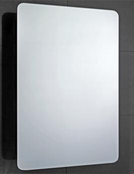 Frontline Scholes 500mm Wide Sliding Door Mirrored Cabinet