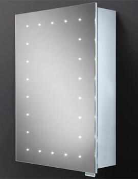 HIB Vogue 500 x 700mm LED Illuminated Steam Free Mirror Cabinet