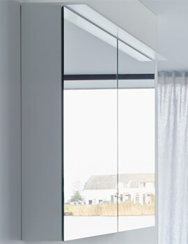 Duravit Happy D2 Mirror Cabinet White Gloss 800mm