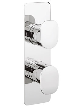 Crosswater Zero 2 Wall Mounted Thermostatic Shower Valve