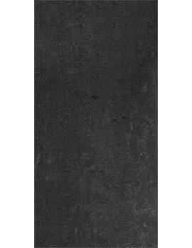 RAK Lounge 30 x 60cm Polished Black Full Body Porcelain Tile
