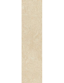 RAK Lounge 15 x 60cm Unpolished Beige Full Body Porcelain Tile