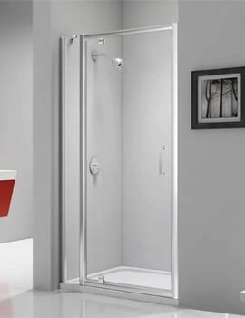 Merlyn Ionic Express Pivot Door And Inline Panel - W 780-840 x H 1900mm