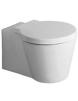 Duravit Starck 1 Wall Mounted WC With Seat And Cover