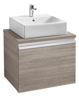 Roca Heima 1-Drawer Vanity Unit With Worktop For Over Countertop Basin