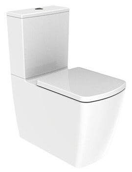 IMEX Ravine Closed Back Rimless WC 620mm Short Projection With Cistern