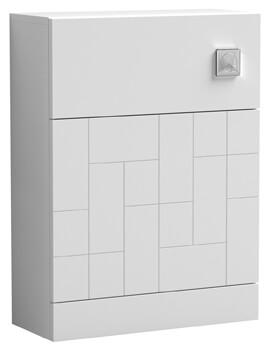Nuie Blocks Floor-Standing Back To WC Unit 600 x 253mm
