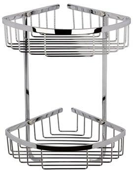 Nuie Premier Large 2 Tier Corner Basket