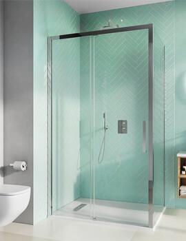 Crosswater Infinity 1200mm Wide Soft Closing Single Slider Door