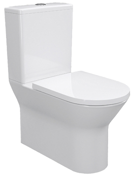 IMEX Blade Rimless Close Coupled Pan With Cistern Closed Back