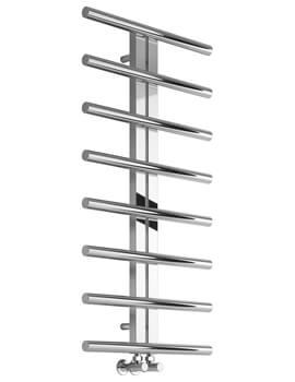 Reina Pizzo Stainless Steel Designer Radiator 600 x 1000mm