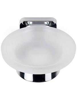 Croydex Shoreditch Flexi-Fix Soap Dish With Holder