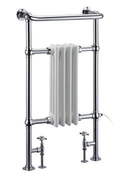 Burlington Bloomsbury Traditional Towel Radiator - W 497 x H 950mm