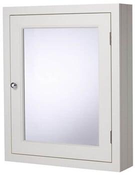 Roper Rhodes Hampton 565 x 700mm Single Door Mirror Cabinet