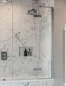Crosswater Optix 10 Bathscreen With Inline Panel