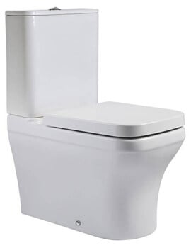 Roper Rhodes Cover Close Coupled Fully Enclosed WC Pan 372 x 630mm
