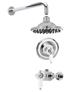 Nuie Beaumont Sequential Shower Valve With Head And Arm