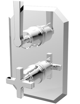 Saneux Cromwell Concealed Thermostatic Shower Valve