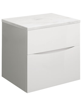 Crosswater Glide II Double Drawer Wall Hung Unit