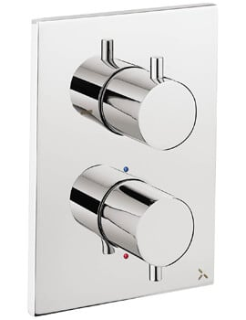 Crosswater MPRO Wall Mounted Crossbox Thermostatic Shower Valve