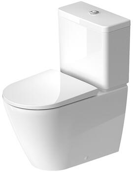 Duravit D-Neo Rimless Close Coupled WC Pan