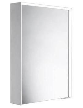 Roper Rhodes Lyric Illuminated Single Door Bluetooth Mirror Cabinet 500 x 711mm
