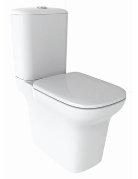 IMEX Grace Open Back Close Coupled WC With Cistern And Soft Close Seat 650mm