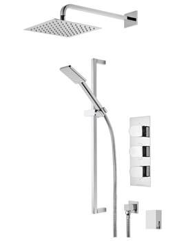 Roper Rhodes Code Triple Function Shower Set And Smartflow Bath Filler